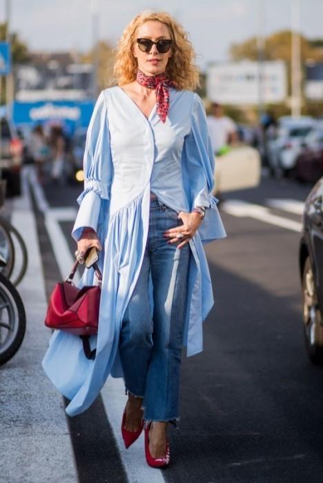 8f6fb3d253d0 Jesenné outfity s prvkami leta! Ako sa obliecť na chladné rána a ...